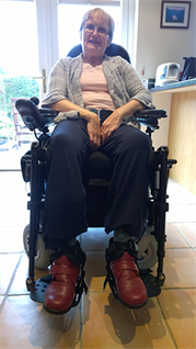 Lyn Brocklehurst, Wheelchair User