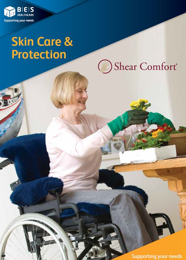 Rebranded Shear Comfort Skincare Catalogue
