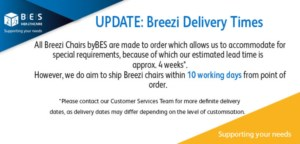 Introducing Improved Breezi Warranties, Delivery Times, and Service